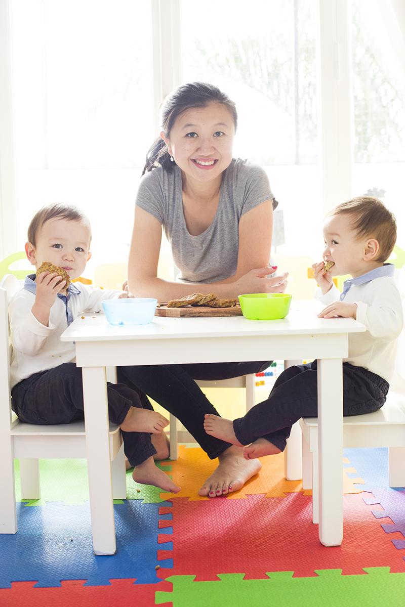 Kari Gao, una mamá organizada