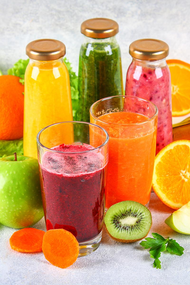 Frutas y verduras, ¡hacelas jugo!