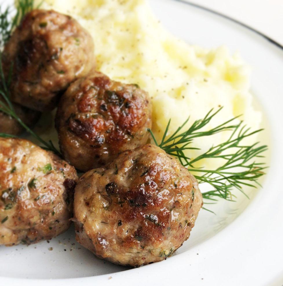 Albóndigas suecas en tu mesa