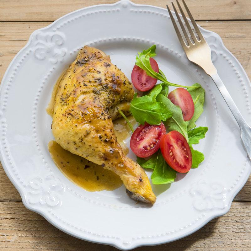 Pollo a la naranja, un manjar para celebrar