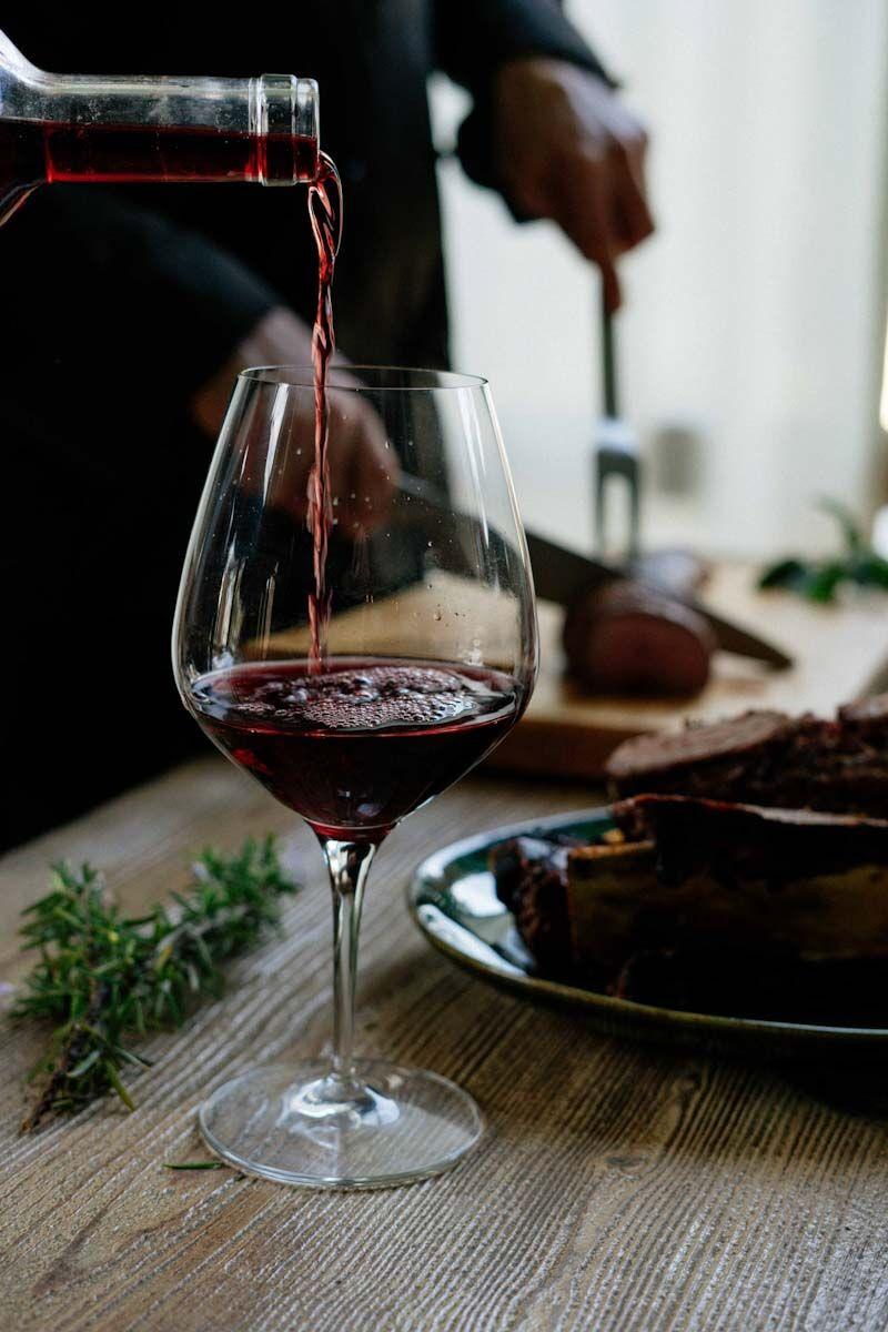 Cociná con vino