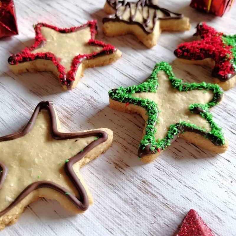 Galletitas estrellas sin gluten